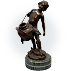 ブロンズ・銅彫刻イメージ