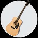 アコースティックギターイメージ