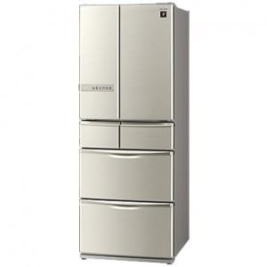 シャープ 6ドアプラズマクラスター冷蔵庫 SJ-XF44T-N 買取実績です。