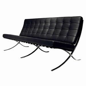 「ミース・ファン・デル・ローエデザイン」のバルセロナチェアの買取実績です。