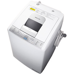 日立のタテ型洗濯乾燥機「白い約束」(NW-D8LX-S)の買取実績です。