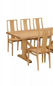 芦屋市にて家具のお買取|KASHIWA(柏木工) タモ100年テーブル&チェアダイニングセットの買取実績