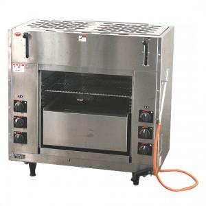 西宮市にて厨房機器・設備をお買取|マルゼン「両面式焼物器 LPガス専用」MGKW-084の買取実績