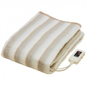 芦屋市にて家電・電化製品をお買取|椙山紡織「掛敷兼用電気毛布(NA-013)」の買取実績